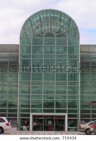 Glass atrium stock photo 719434 shutterstock for Where to buy atrium windows