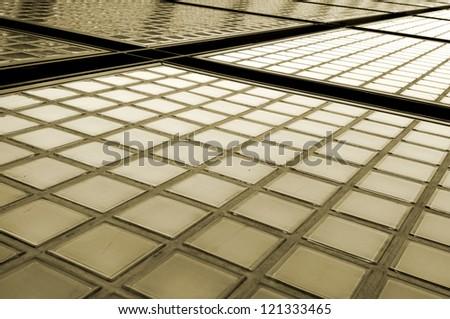 Glass Blocks - stock photo