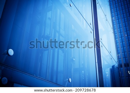 Glass building, wall #209728678