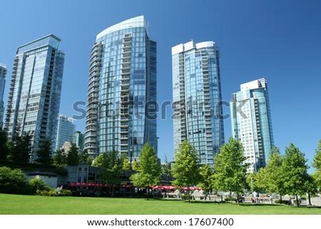 Glass Condominium Towers