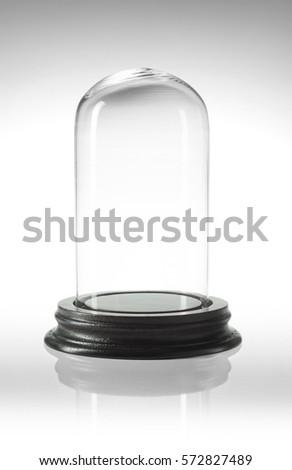 glass dome to preserve
