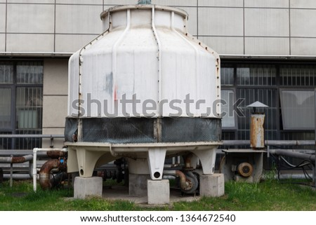 Glass fiber cooling tower, cooling tower of large air conditioner #1364672540