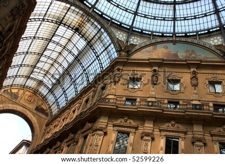 Glass gallery - Galleria Vittorio