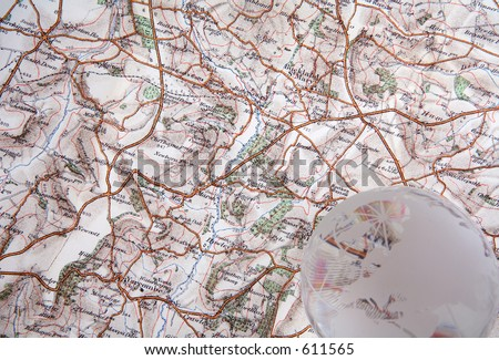 Ordnance Survey map.