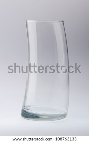 glass isolated on the white background