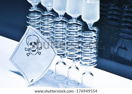 Glass laboratory Zdjęcia stock ©