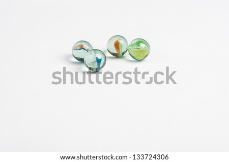 glass marbles #133724306