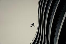 Glass Metal Sky - Airplane