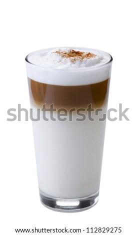Glass of Latte macchiato
