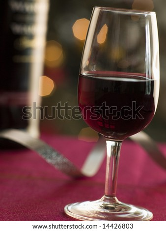 Glass of Port