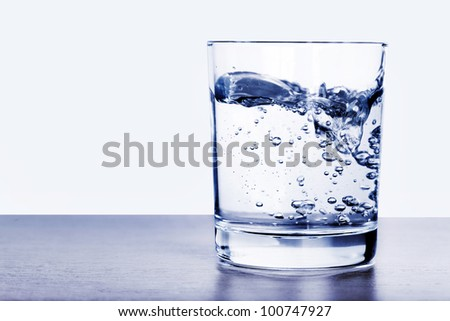 Glass of water #100747927