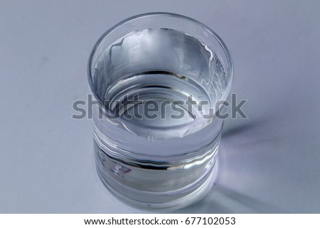 glass of water #677102053