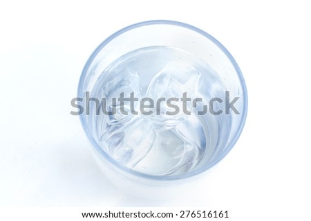glass of water isolated on white #276516161