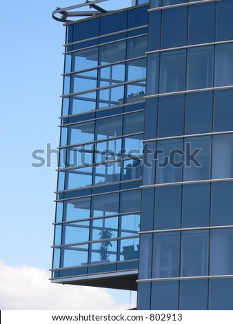 Glass Office in the sky