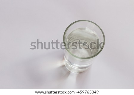 glass on background and selective focus,out focus(over light some point.)  #459765049
