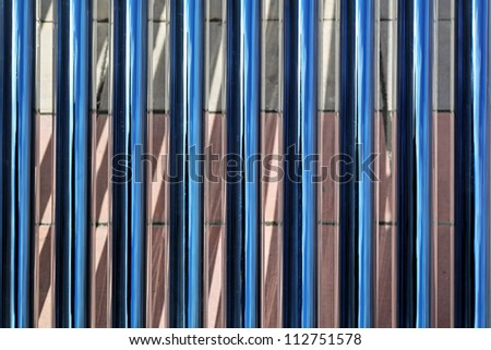 Glass tubes for solar water heating system