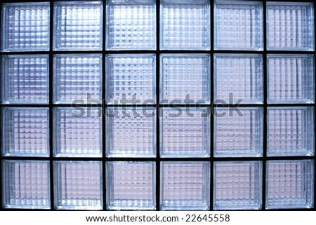 Glass wall texture detail