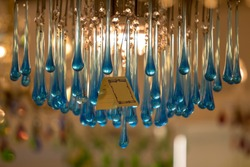 Glass-work in Murano island near Venice, Italy