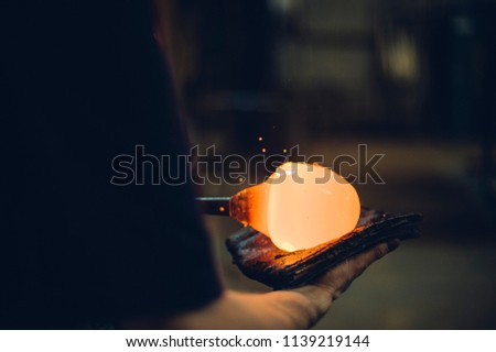 Glassblower and the Orbs #1139219144