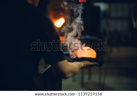 Glassblower and the Orbs #1139219156