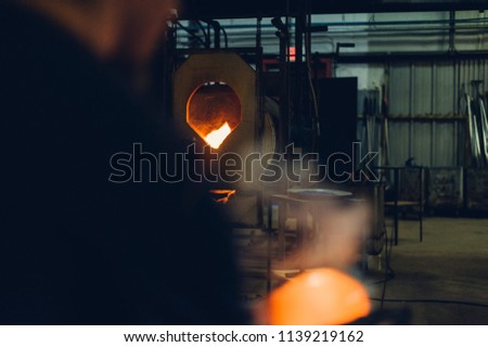 Glassblower and the Orbs #1139219162