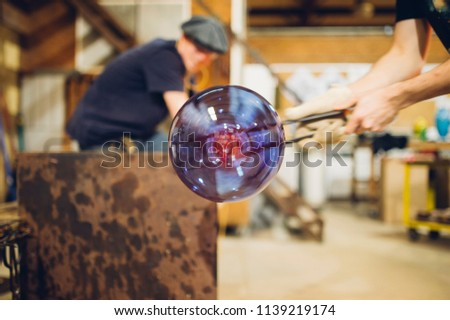 Glassblower and the Orbs #1139219174