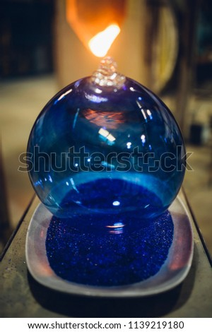 Glassblower and the Orbs #1139219180