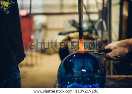 Glassblower and the Orbs #1139219186