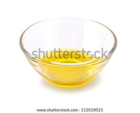 glassdish with butter