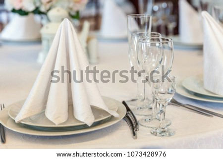 Free Photos Catering Services Empty Glasses Set And Food In