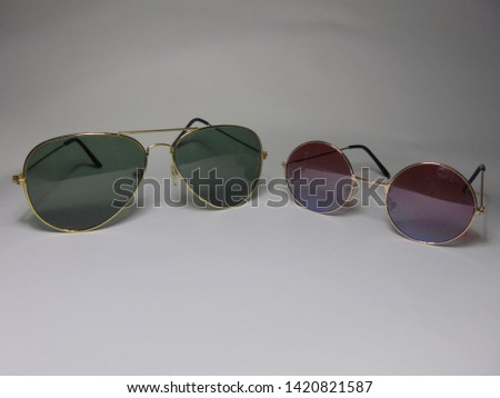 glasses isolated on a white background #1420821587