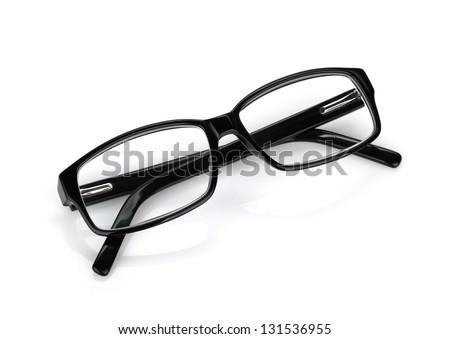 Glasses. Isolated on white background