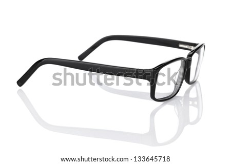 Glasses. Isolated on white background