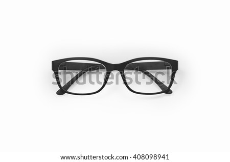 Glasses isolated on white with clipping path. #408098941