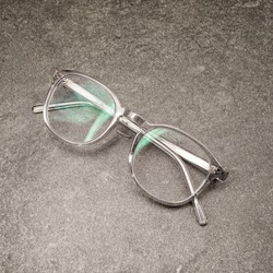 glasses simplistic layout product coal tile shot