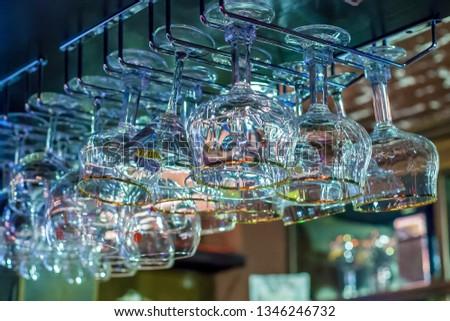 glasses stemware, wine glasses