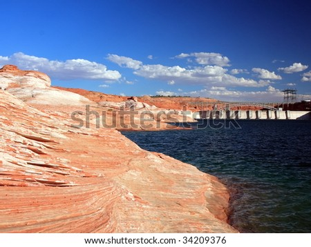 Glen Canyon Dam on the Colorado River