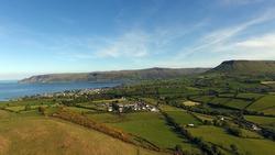 Glenariff And Cushendall Castle Co Antrim Northern Ireland