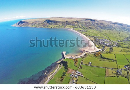 Glenariff Glenariffe Waterfoot Co.Antrim Northern Ireland 2017 Stok fotoğraf ©