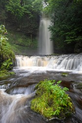 Glencar waterfall Co. Leitrim, Ireland