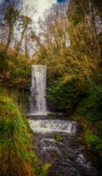 Glencar Waterfall near  Sligo Ireland