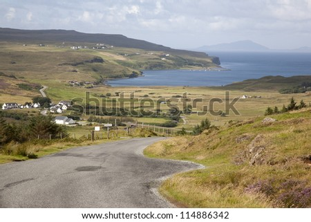 Glendale, Duirinish, Isle of Skye, Scotland, UK