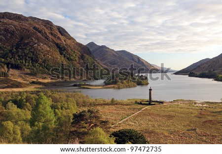 Glenfinnan mountain landscape