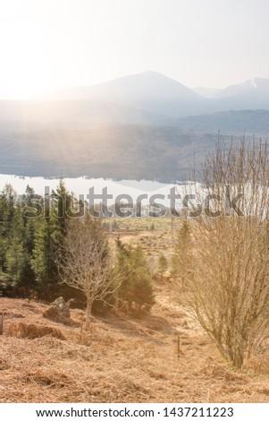Glengarry Viewpoint at Loch Oich Invergarry (Inbhir Garadh) Highlands Scotland Great Britain #1437211223