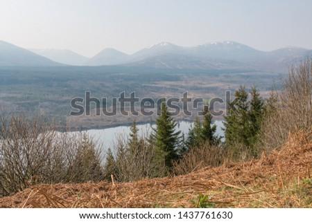 Glengarry Viewpoint at Loch Oich Invergarry (Inbhir Garadh) Highlands Scotland Great Britain #1437761630