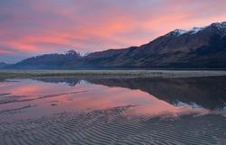 Glenorchy Lagoon, Newzealand.
