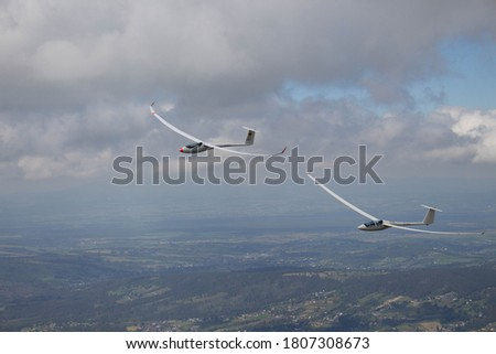 Glider in the Tatra Mountains. Сток-фото ©