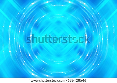 Glitter Blue Abstract Background Illustration.