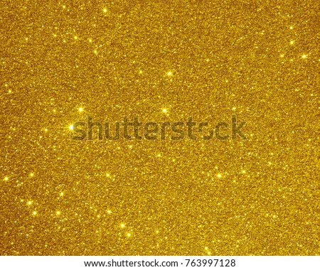 glitter golden texture background christmas light #763997128