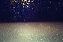 Glitter lights background.